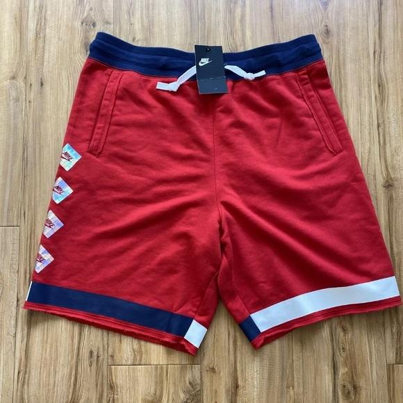 Nike NSW retro terry fleece shorts men's sz L